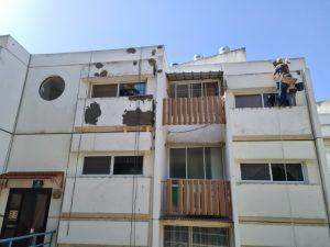 שיפוץ מעטפת בניין