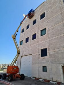 שיפוץ בניין חיצוני