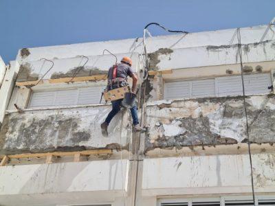 ביצוע עבודות בגובה על ידי חברת מרום
